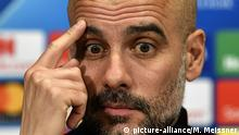 Manchester City-Manager Pep Guardiola (picture-alliance/M. Meissner)
