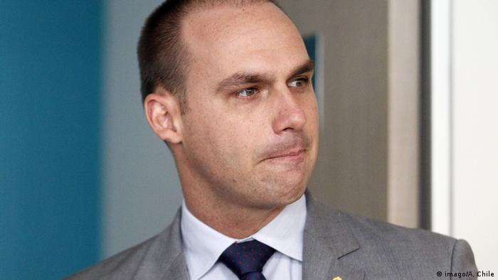 Eduardo Bolsonaro, filho de Jair Bolsonaro