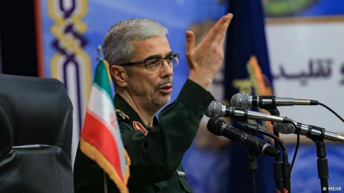General Mohammad Bagheri, der iranische Kommandeur des Generalstabs der iranischen Armee