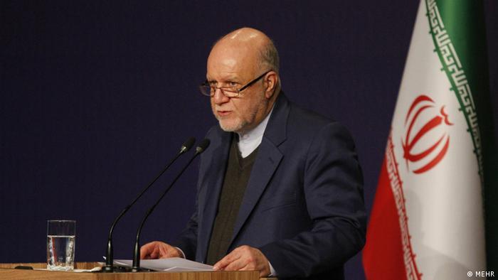 Bijan Zangeneh, der iranische Ölminister (MEHR)