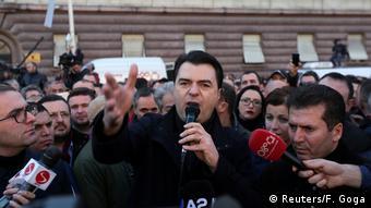 Albanien Lulzim Basha (Reuters/F. Goga)