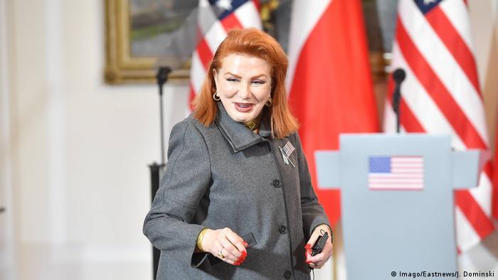Ambasador USA w Polsce Georgette Mosbacher pozytywnie ocenia sytuację w Polsce