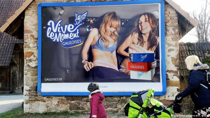 Недоречне зображення оголеного тіла в рекламі вже заборонене у низці німецьких міст