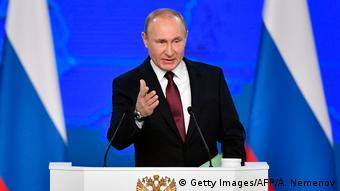 Russland | Putin hält Rede zur Lage der Nation | 2019