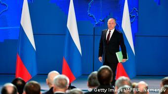 Για πρώτη φορά έκανε ο Πούτιν αναφορά σε αυτούς τους πυραύλους στην ομιλία του για την κατάσταση του έθνους το 2018