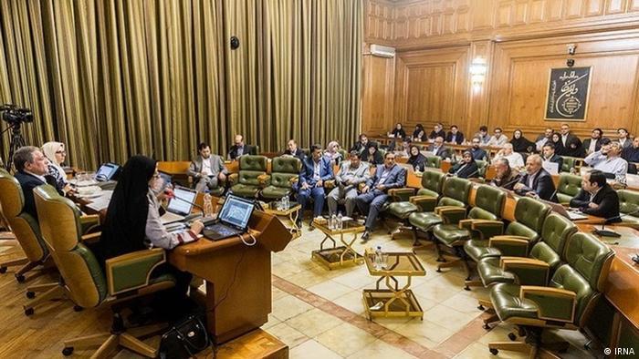یکی از نشستهای شورای شهر تهران، عکس از آرشیو