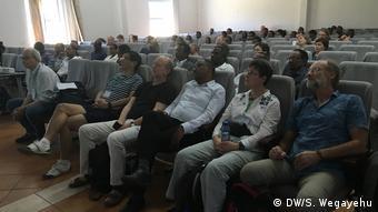 Diskussion über die Rolle von Mathematik und Statistik für Wissenschaft und Technologie: Hawassa Universität 20.02.2019