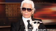 Karl Lagerfeld bei Johannes B. Kerner (picture-alliance/dpa/M. Christians)