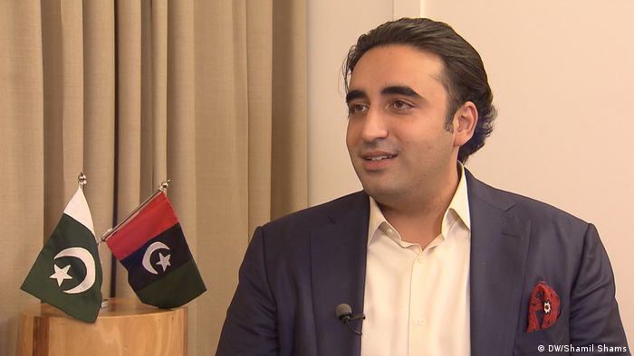 Munich Security Conference 2019 Bilawal Bhutto (DW/Shamil Shams )