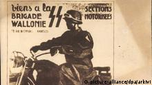 2. Weltkrieg Poster Belgische Waffen SS