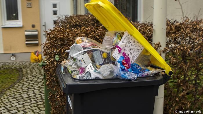 Контейнер с мусором