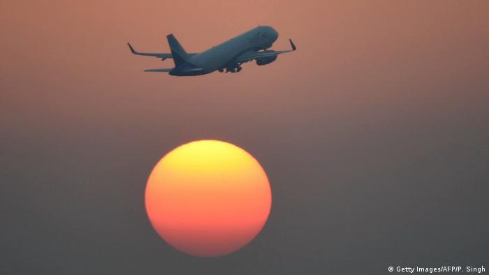 Indien IndiGo Fluglinie (Getty Images/AFP/P. Singh)