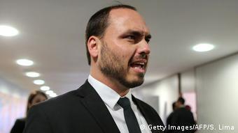 O vereador Carlos Bolsonaro, filho do presidente Jair Bolsonaro