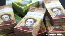 Geldscheine aus Venezuela