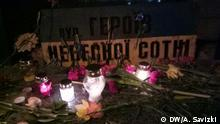 Gedenkveranstaltung am 5. Jahrestag der Ereignisse auf dem Maidan in Kiew