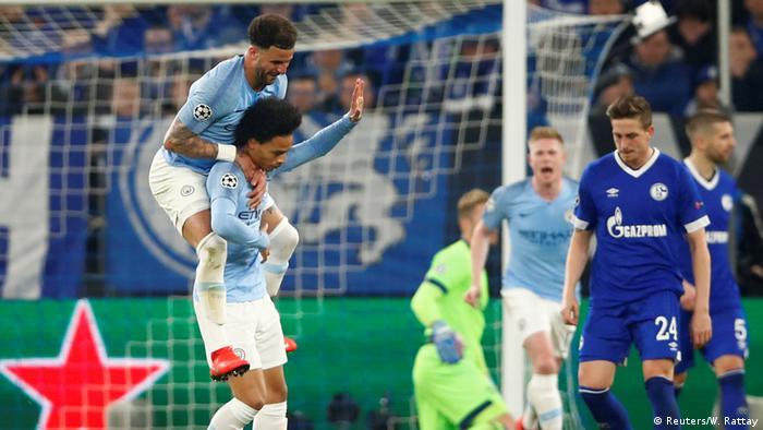 Champions League Leroy Sane Haunts Schalke As City Stage