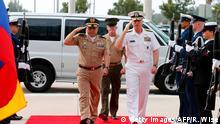 USA Admiral Craig S. Faller und General Luis Navarro Jimenez