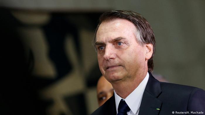 Brasilien Jair Bolsonaro kommt zur Sitzung des Parlaments in Brasilia