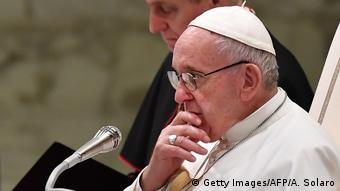 Papst Franziskus in Vatikan