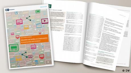 Mockup der Publikation Media and Information Literacy Guidebook