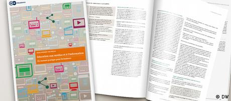 Mockup der Publikation Media and Information Literacy Guidebook