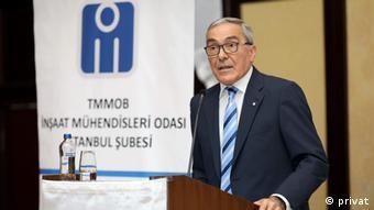 TMMOB İnşaat Mühendisleri Odası İstanbul Şube Başkanı Nusret Suna
