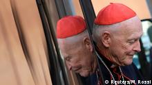 FILE PHOTO: U.S. Cardinal Theodore Edgar McCarrick arrives for a meeting at the Synod Hall in the Vatican March 4, 2013. REUTERS/Max Rossi/File Photo