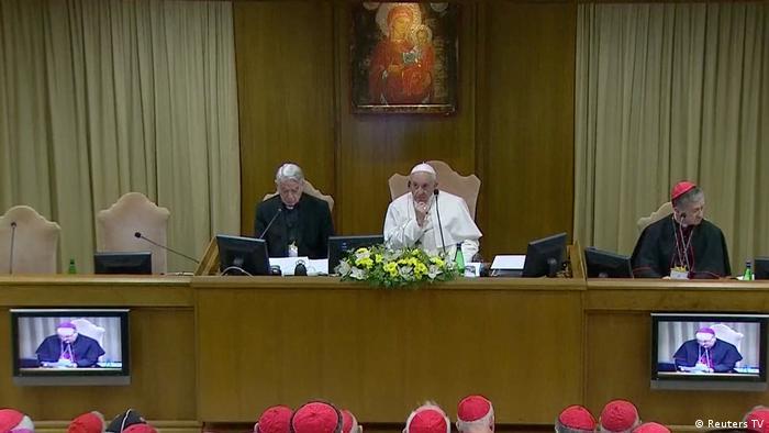 Vatikan Gipfel zum Thema sexueller Missbrauch in der Kirche (Reuters TV)