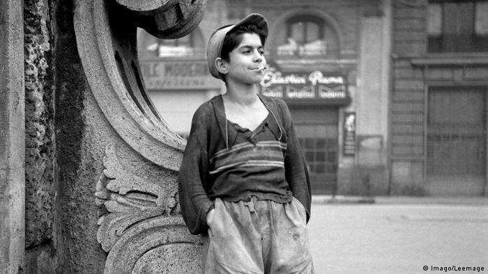 Filmstill Schuhputzer von Vittorio de Sica 1946