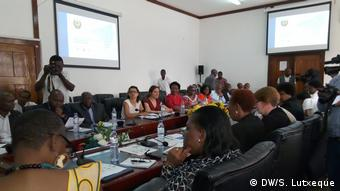 Mosambik Nampula - Vorstellung einer Studie über Unterernährung