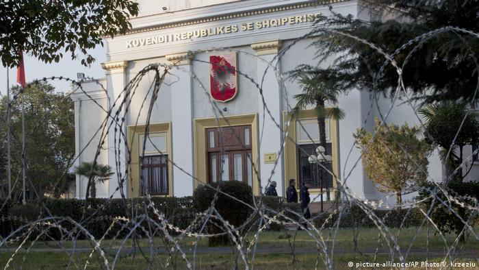 Albanian parliament