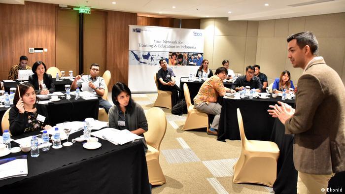 Indonesien Jakarta - Geschäfts- und Sozialaktivitäten von Ekonid (Ekonid)