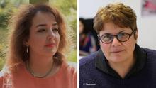 Azadeh Davachi und Mahboubeh Abbasgholizadeh Bildkombo
