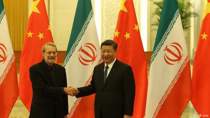 Ali Larijani, Irans Parlamentschef in China