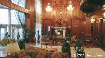 Внутреннее убранство бывшей резиденции Януковича