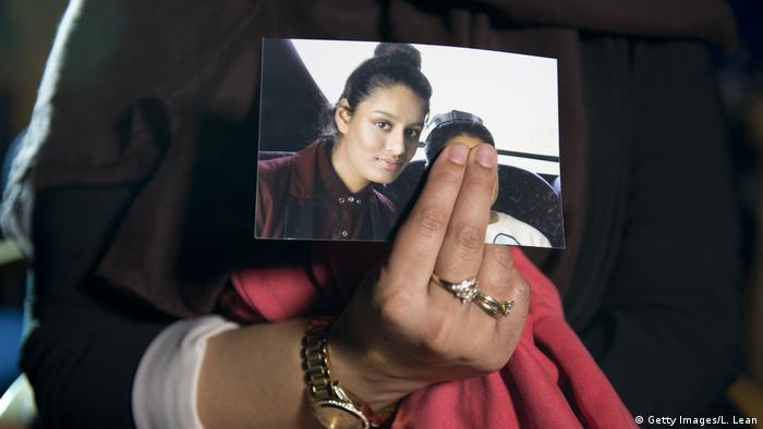 IS-Anhängerin Shamima Begum aus Großbritannien (Getty Images/L. Lean)