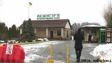 Luxuriöse innere Ausstattung der Residenz vom Präsident Yanukowitsch