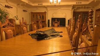 Одна из комнат в резиденции Межигорье