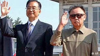 Wen Jiabao and Kim Jong Il