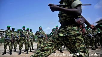 Somalia - Amison Soldaten aus Burundi in Mogadishu