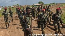 Somalia Mogadishu - Somalische Soldaten