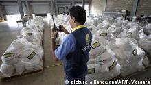 Aid packages at Cucuta in Colombia (picture-alliance/dpa/AP/F. Vergara)