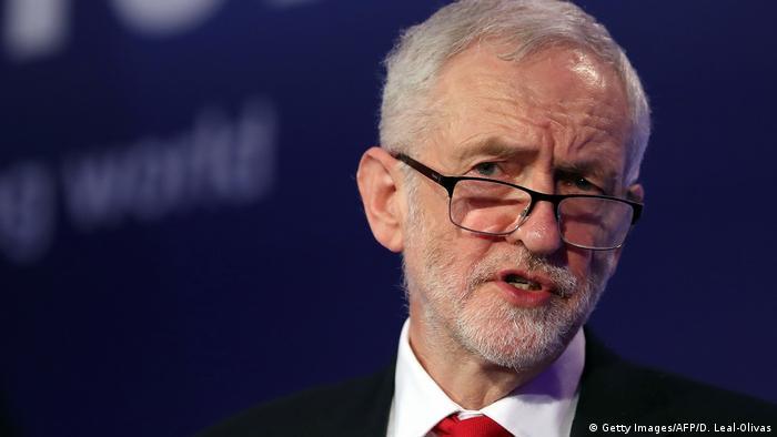 London - Großbritannien - Jeremy Corbyn - Labour Parteichef