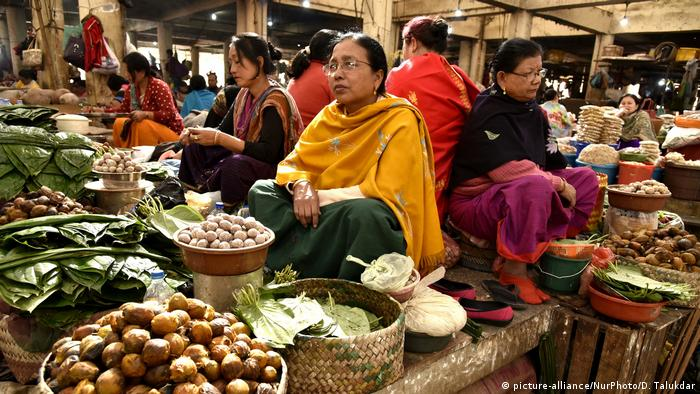 Ima Market in Maniput, India (picture-alliance/NurPhoto/D. Talukdar)