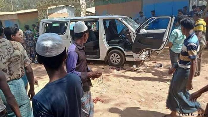 Deutsche Journalisten in Bangladesch angegriffen (DW/S. Kumar Dey)