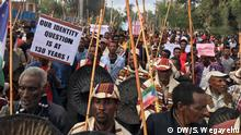 Äthiopien, Demonstration in Hawassa
