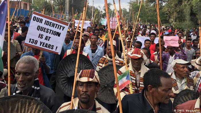Äthiopien, Demonstration in Hawassa