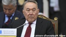Kasachstan Nursultan Nasarbajew