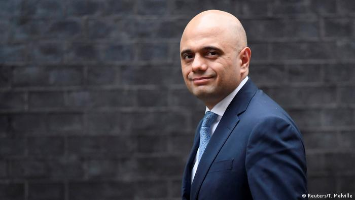 UK Sajid Javid (Reuters/T. Melville)