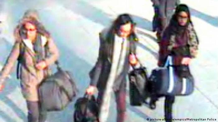 UK Shamima Begum (picture-alliance/empics/Metropolitan Police)